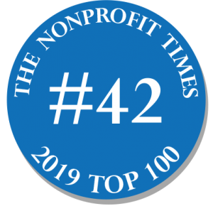 The Nonprofit Times #42 out of 100 (2019 year)
