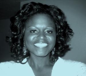 African American smiling at camera