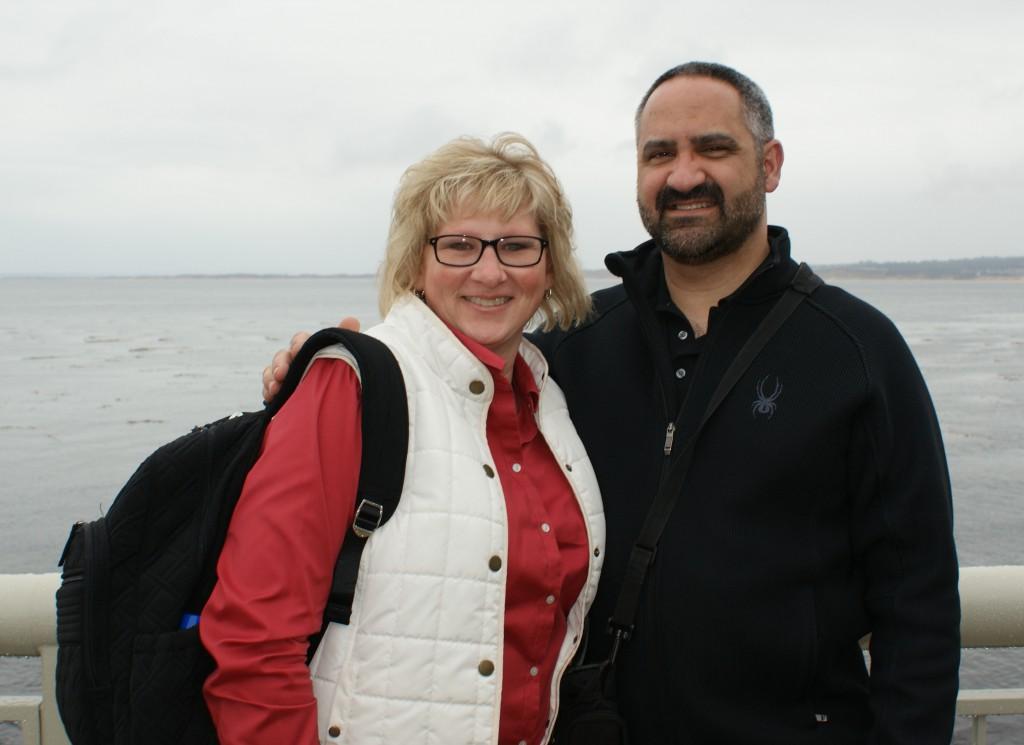 Kimberly and her husband
